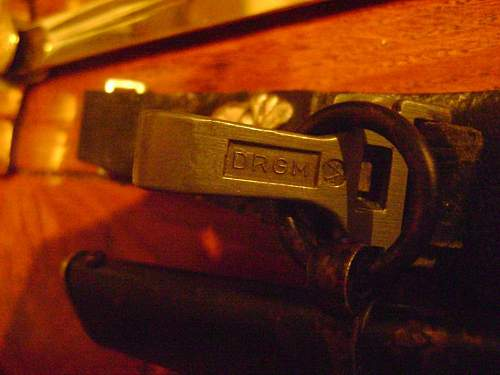 horster ss marked sword