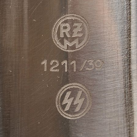 SS Dagger RZM 1211/39: your help please