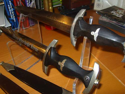 Two SS dagger's