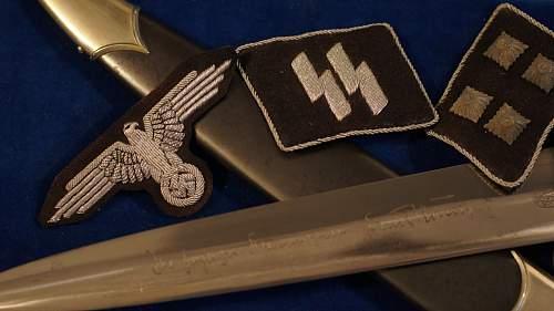 WIKING artillery commanders personal dress dagger