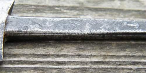 Salty Boker SS Dienstdolch blade