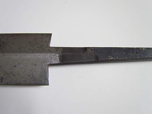 SS Dagger Blade (unmounted)