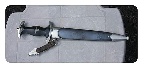 H. Himmler Eickhorn SS Dagger