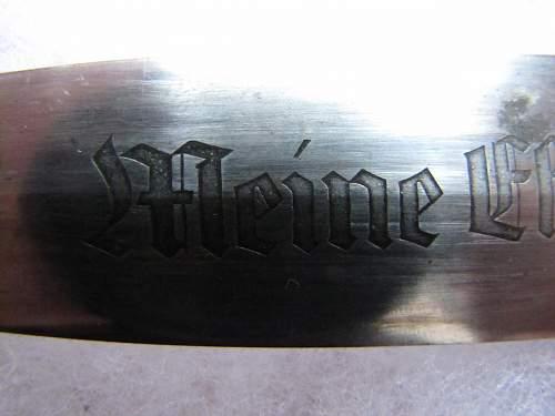 SS dagger G. HAMMESFAHR