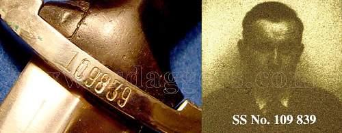 Eickhorn Rohm SS dagger Partial Rohm signature