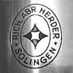 Herder full Rohm signature dagger