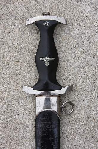 RZM 1196/38 SS Dagger