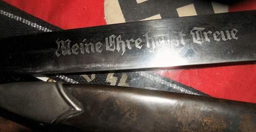 A dodgy SS dagger?