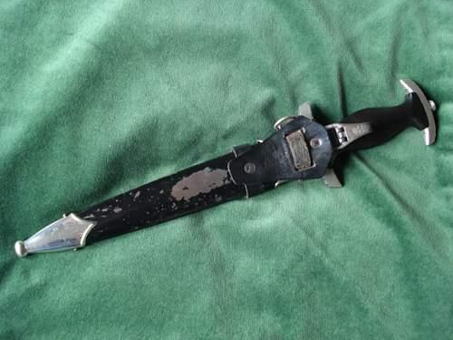 1st SS Dagger RZM 807/36 SS