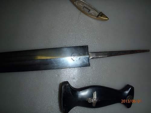 33 SS dagger