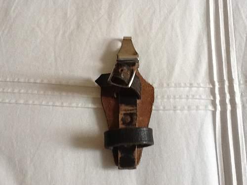 Assman marked vertical hanger
