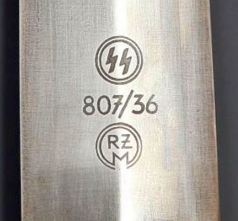 RZM Marked SS Dagger For Review.