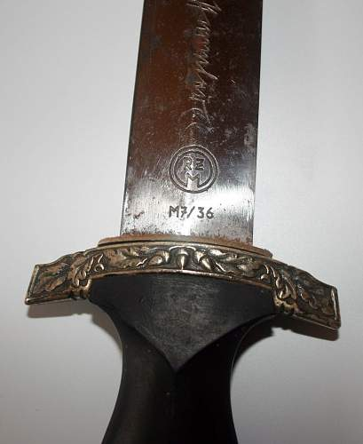 Is my SS dagger authentic?