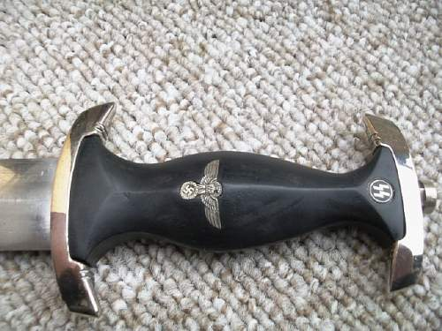 SS dagger ''Himmler Widmung''  Fake or real?