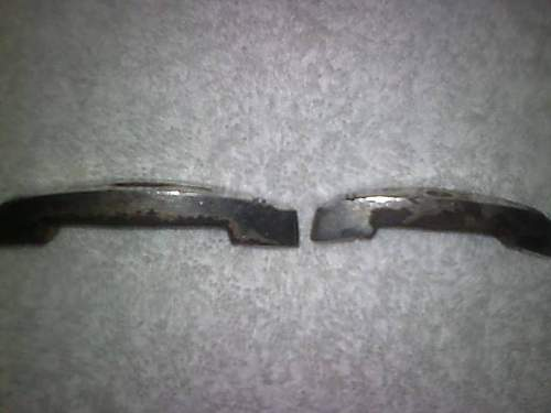 Broken SS Officers dagger