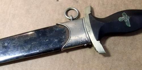 Early SS Dagger(Gottlieb Hammesfahr ) -real or fake SS Dagger?