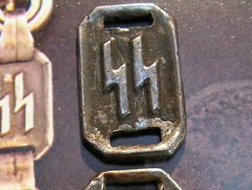 SS dagger chain parts