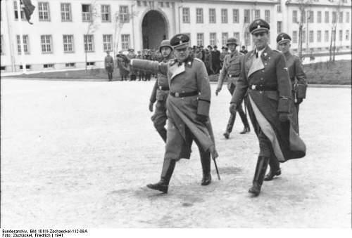 At Auction: Ernst Kaltenbrunner SS Himmler Honor Sword
