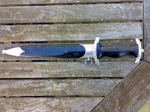 Hammesfahr SS Dagger, serial numbered - opinions please
