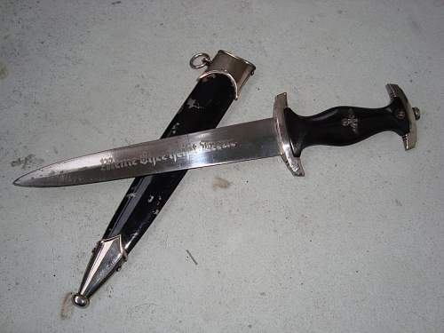 Fake SS dagger: RZM M7/36 ?