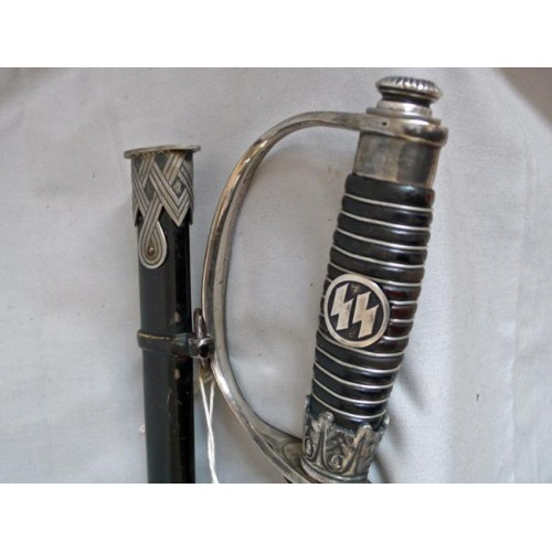 SS OFFICERS SWORD for review