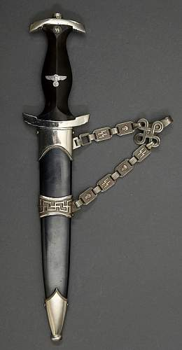 E-442 Model 1936 SS Chain Dagger
