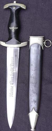 SS Dagger RZM 120/34 and Numbered