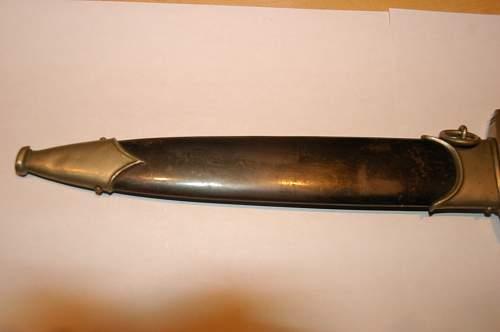 A dagger my Dad brought back from Dachau