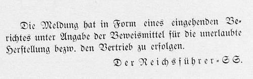 Click image for larger version.  Name:Ringe mit Zivilabzeichen Verbot [SS-Befehlsblatt 1935_10_25] 2.jpg Views:3 Size:69.4 KB ID:766063