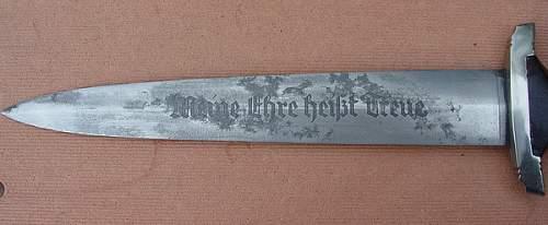 SS himmler dagger for sale...some doubts