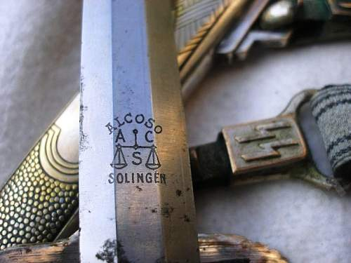 SS Prototype Dagger by Alcoso