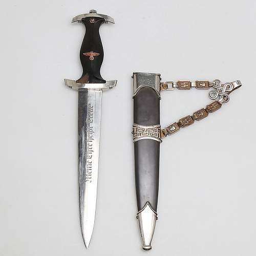 SS Dagger at Swedish auction