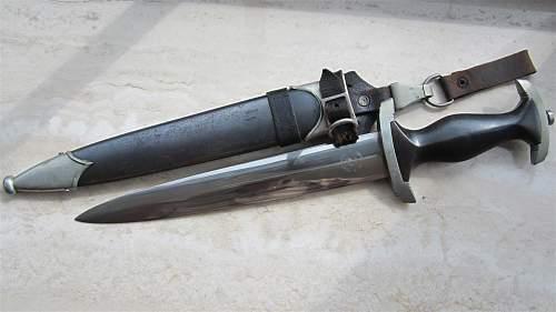 Robert Klaas SS dagger