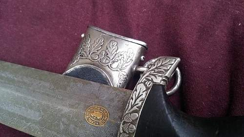 SS Damascus steel dagger, opinion