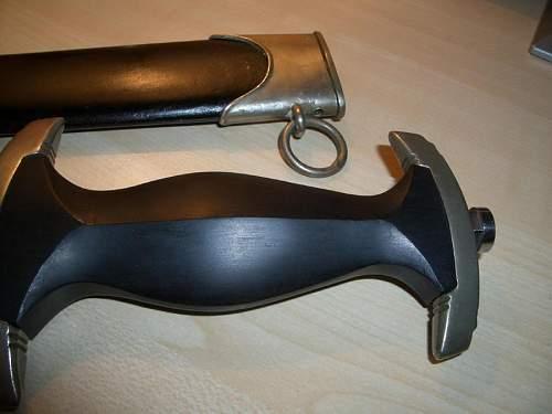 Rohm dedication SS dagger.