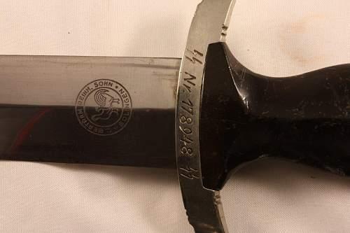 Bertram SS dagger