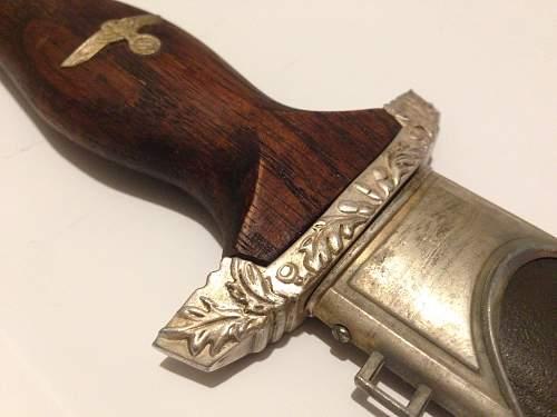 SS Damascus dagger REAL OR FAKE?