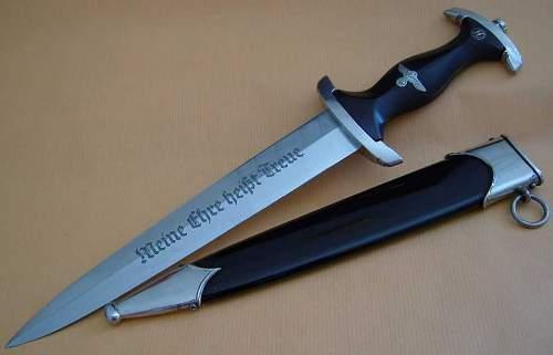 RZM M7/2 -1166-38 SS dagger.