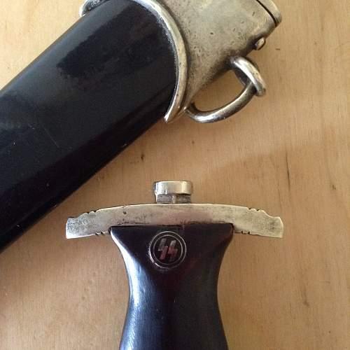 Richard herder ss dagger, real or fake?
