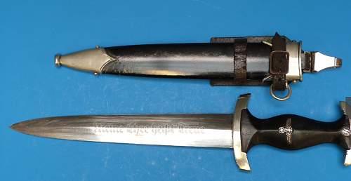 Ernst Pack & Sohn SS Dagger. ...is it Ok?
