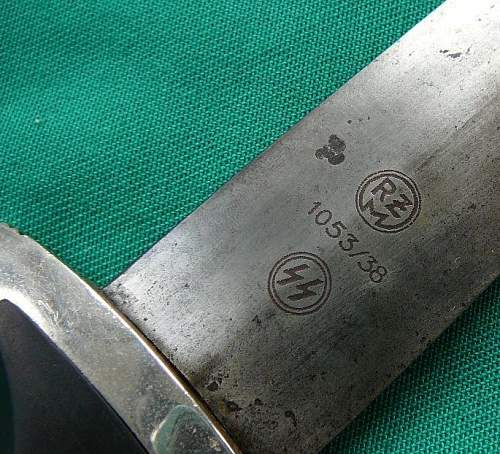 SS dagger rzm 1053/38 SS - ask for help