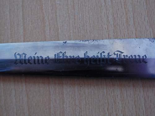 Original ? RZM 120/34 SS Dagger