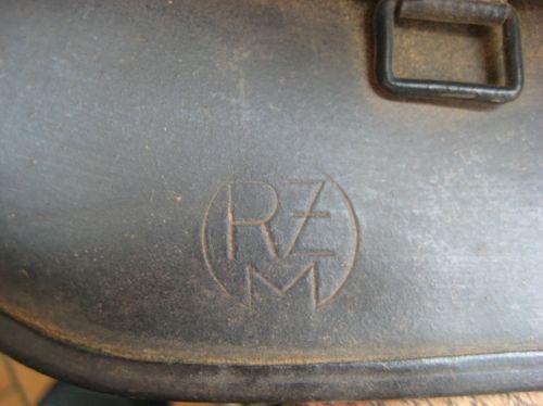 Rzm marking inside an ss helmet...
