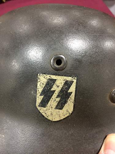 SS Helmet - Authentic?