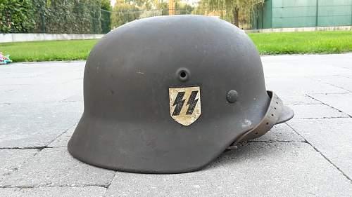 My first SD SS helmet