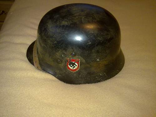 Another SS helmet for you to view...