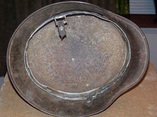 D-day camo SS helmet