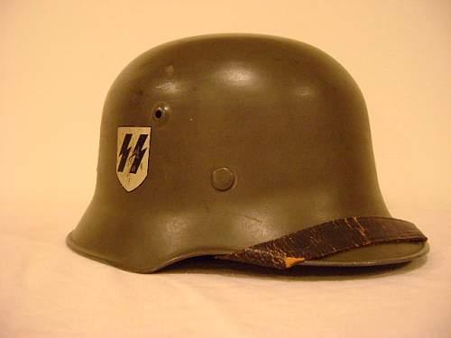 DD SS SD  Edelstahl M34 Medium Weight Helmet