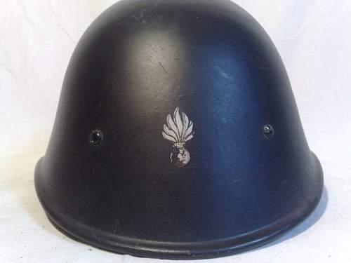 Dutch Landwacht or Landstorm helmet