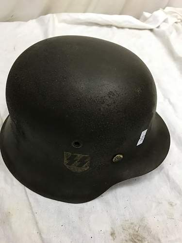 Orininal or fake SS helmet